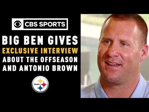 Big Ben gives an exclusive interview about the offseason and Antonio Brown CBS Sports
