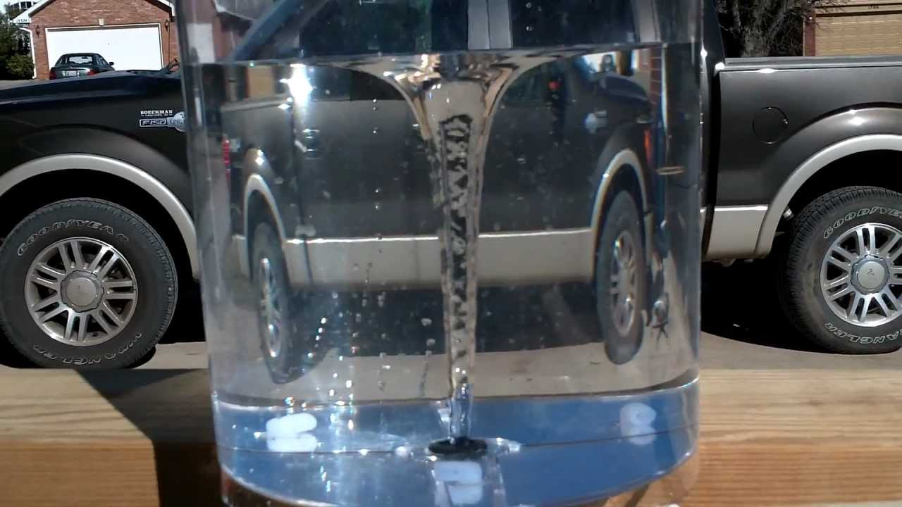 Water Vortex Fountain