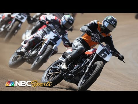 American Flat Track 2019: Yamaha Atlanta Short Track | EXTENDED HIGHLIGHTS | Motorsports on NBC