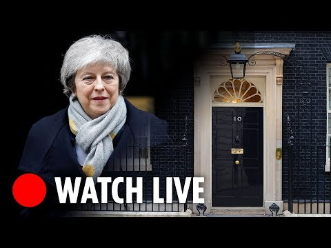 Theresa May to resign June 7 | Downing Street LIVE