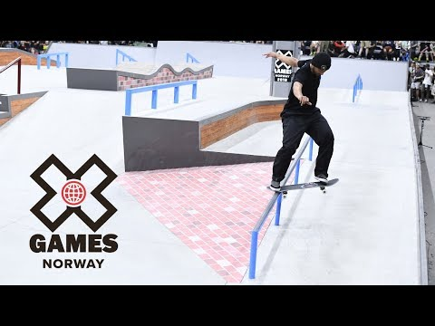 Men's Skateboard Street: FULL BROADCAST   X Games Norway 2018