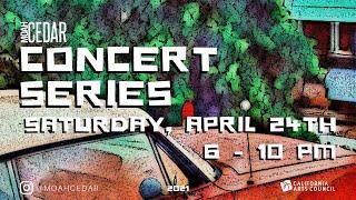 MOAH Cedar Virtual Concert Series (April)