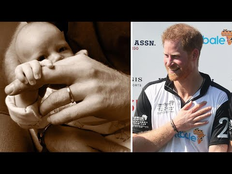 Prince Harry and Meghan Markle Share Sweet Photo of Baby!