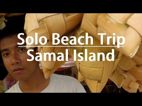Solo Beach Trip | Kaputian, Samal, Davao Del Norte, Philippines