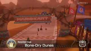 Mario Kart 8 Highlights #29 - Bone-Dry Dunes