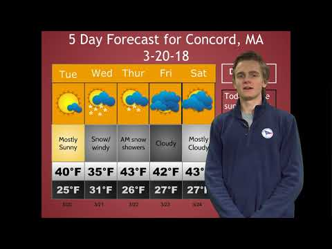 SNOW DAY THURSDAY??? Daily Weather Update 3-20-18