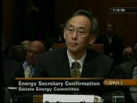 Senator Burr Speaks with Dr. Stephen Chu at Confirmation Hearing