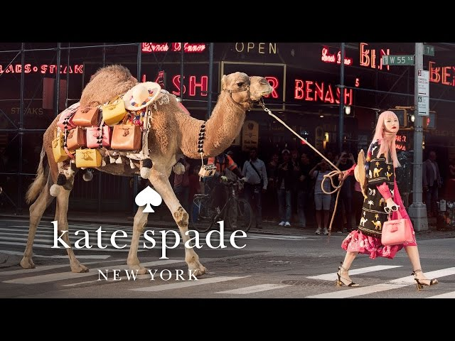 camel crossing with fernanda ly: the spring 2017 collection | kate spade new york