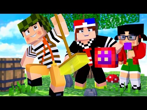 A TURMA DO CHAVES NO BEDWARS !! - Minecraft