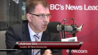 Bill Good talks to BC New Democrats Leader Adrian Dix