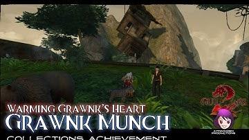 ★ Guild Wars 2 ★ - Warming Grawnk's Heart & Sous-Chef Seimur Oxbone's location