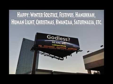 Las Vegas Godless billboard - Dec 2014