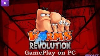 Worms Revolution GamePlay on PC Maxed Out [1080p]
