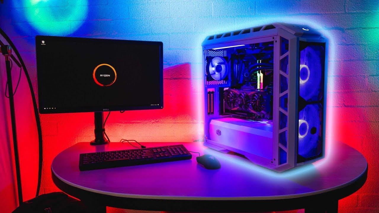 AMD Ryzen 7 2700X - First Build - Cooler Master H500P Mesh - Cooler Master  ML240R RGB