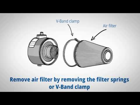 Walker AIRSEP Service Video #102 (Air Filter Cleaning Procedure)