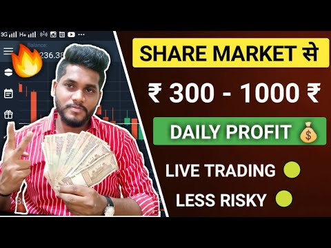 How To Make Daily Profit In Share Market | Stock Market Intraday Trading In Hindi 🔥