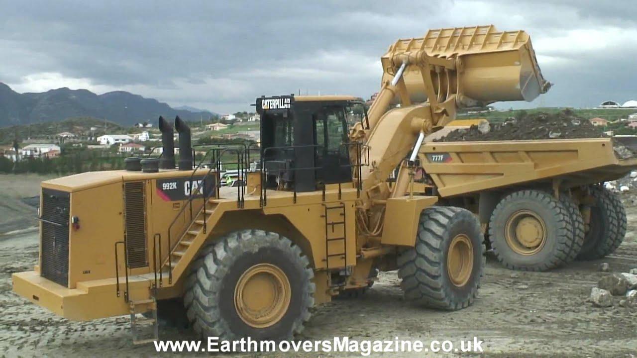 Massive Cat 992k Wheel Loader Test Youtube
