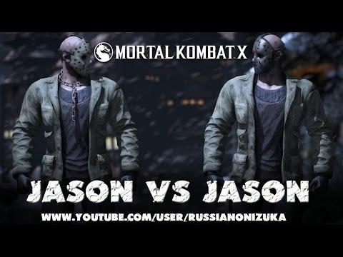 Mortal Kombat X - Jason - ПОДРОБНЫЙ ОБЗОР (Fatality, Brutality & Horror Skins)