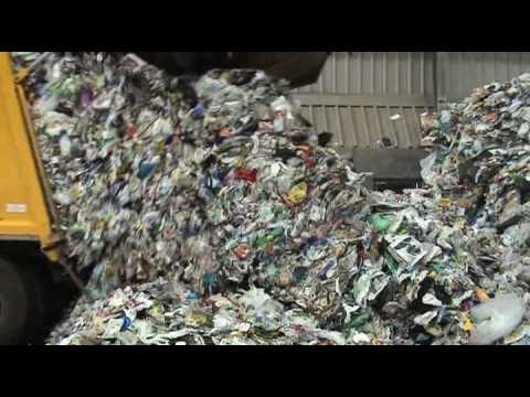 What happens to all our recycling ?  Journey from the blue bin to the bale