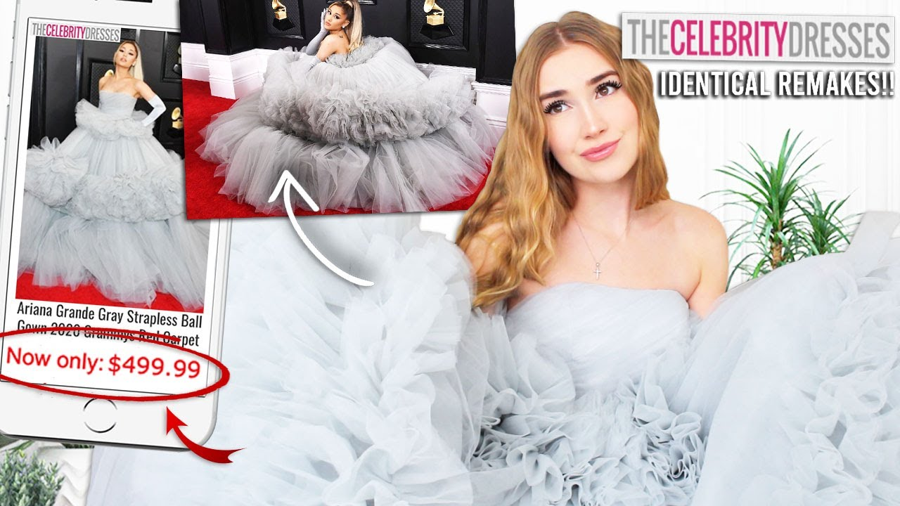 TRYING ON CELEBRITY DRESS REMAKES !! *thecelebritydresses.com* is it worth the $$!?