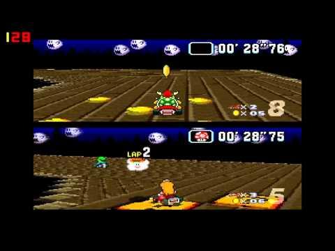 Mario Kart - melhores pilotos de kart num video so ;D