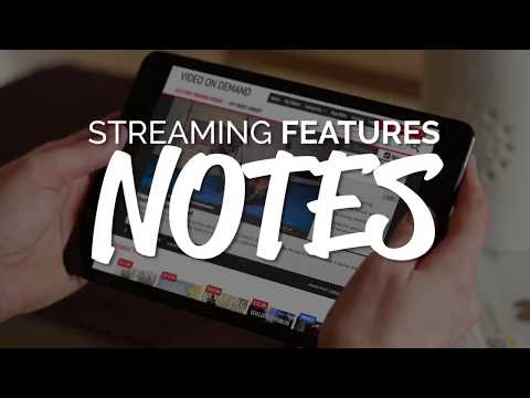 The BEST Video on Demand Feature: NOTES