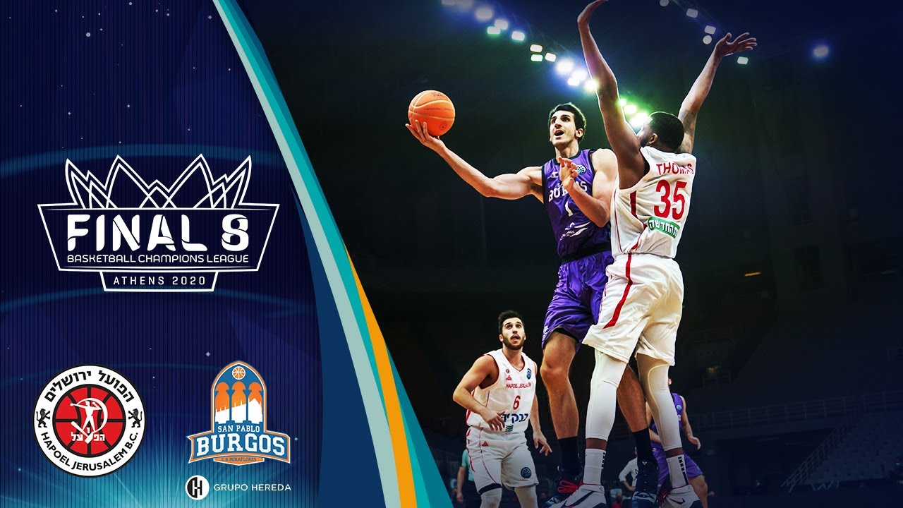 Hapoel Jerusalem v Hereda San Pablo Burgos - Full Game - Quarter Finals - BCL 2019