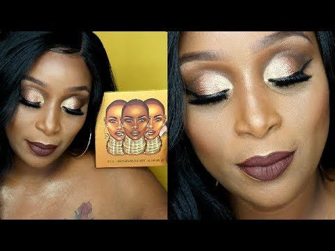 0d85562f1ce THE WARRIOR PALETTE BY JUVIA'S PLACE | Swatches+Tutorial