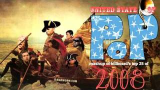 DJ Earworm - United State of Pop 2008 (Viva La Pop) - Mashup of Top 25 Billboard Hits thumbnail