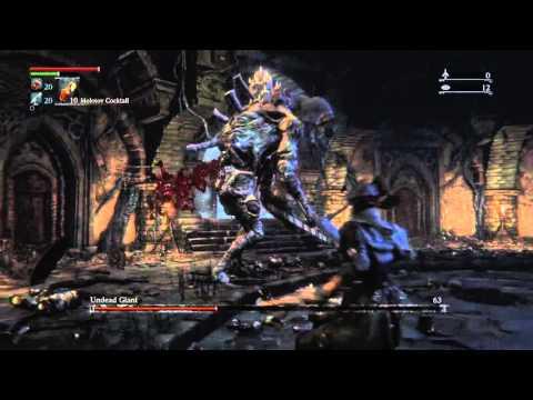 Bloodborne - Undead Giant no Blood Vials