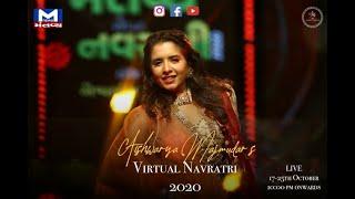 Virtual Navratri 2020 | Aishwarya Majmudar | Mantavya News | Aantham ♥️