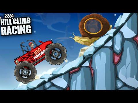 Hill Climb Racing - Prognosis 5250m BIG FINGER Walkthrough Gameplay