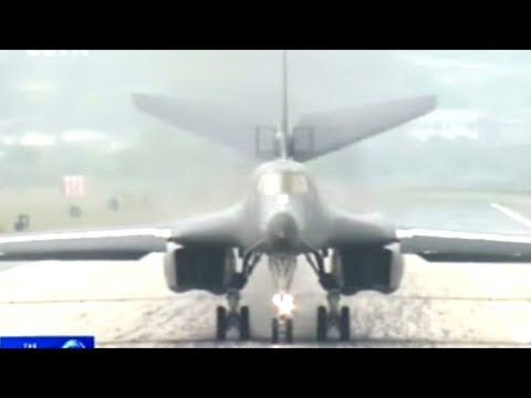 U.S And South Korea Conduct War Games Drill With B-1B Lancer Bomber!