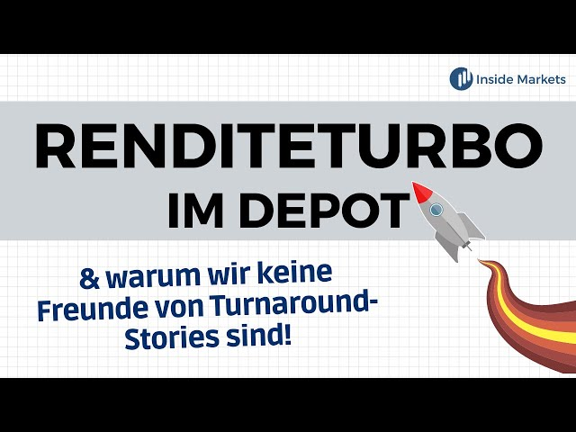Kursraketen für das Depot - Turnaround-Stories vs. Wachstumsaktien