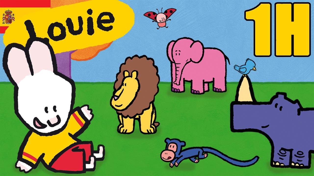 1 hora de Louie : Animales - Compilacion | Dibujos animados para ...
