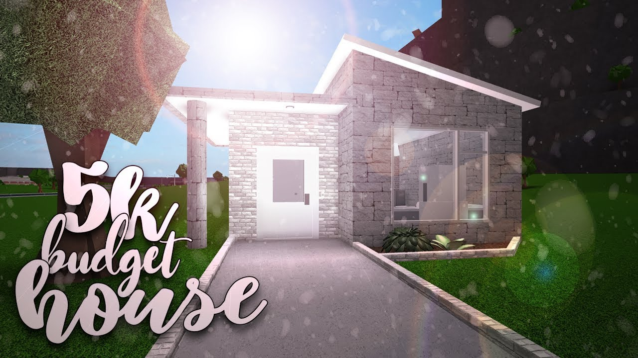 Roblox Bloxburg 5k Budget House House Build No Gamepass