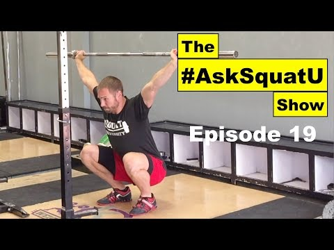 Improving Stability In Your Overhead Squat & Snatch  |#AskSquatU Show Ep. 19|