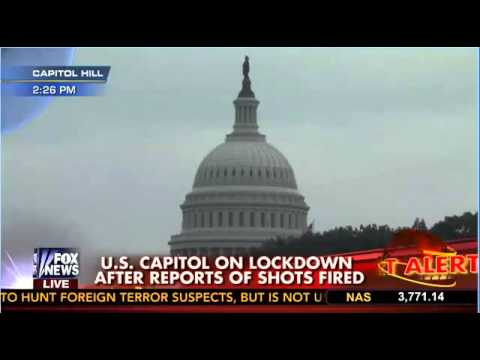 Breaking: Shots Fired Outside U.S. Capitol Building - October 3, 2013