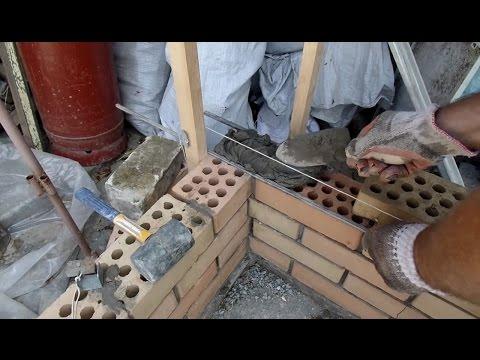 Способ кладки в полкирпича для начинающих каменщиков Мастер в доме