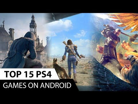Top 15 Console Games On Android | Console Quality Games For Android | Play Ps4 Games On Android