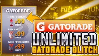 NBA 2K19 UNLIMITED GATORADE BOOST GLITCH!!! • WORKING AFTER PATCH 1.09!!!