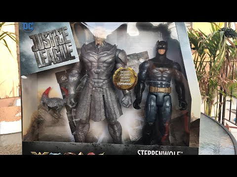 Live review justice league 10 inch steppenwolf vs batman review