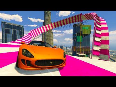 ACROBACIA SUPER IMPRESIONANTE! - CARRERA GTA V ONLINE - GTA 5 ONLINE