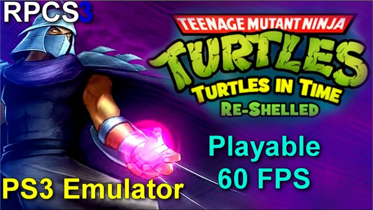TMNT: Turtles In Time Re Shelled Playable 60 FPS TEST#01