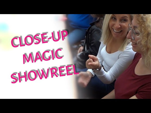 Yakın Mesafe Sihirbazlık Gösterileri / Closeup Magic Showreel
