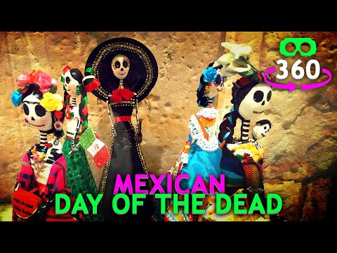 Mexican Day of the Dead 360º Virtual Reality #360Video #VirtualReality #VR #360 #4K