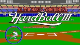 Hardball 3 gameplay (PC Game, 1992)