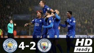 Video Leicester City 4 x 2 Manchester City - Gols & Destaques - EPL 10.12.2016 HD download MP3, 3GP, MP4, WEBM, AVI, FLV September 2018