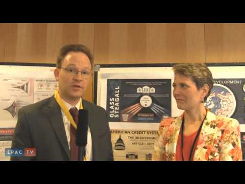 Post Conference Interview with Jason Ross and Diane Sare from Frankfurt, Germany