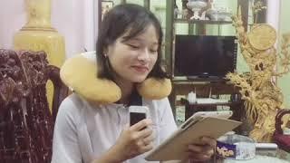 Vlog 05: Làm bánh flan siêu to tặng sinh nhật anh quay phim